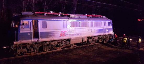 pociąg widmo jechał przez Lubuskie
