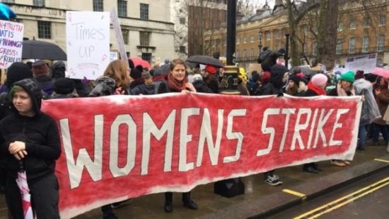 Kobiety demonstrują w Londynie